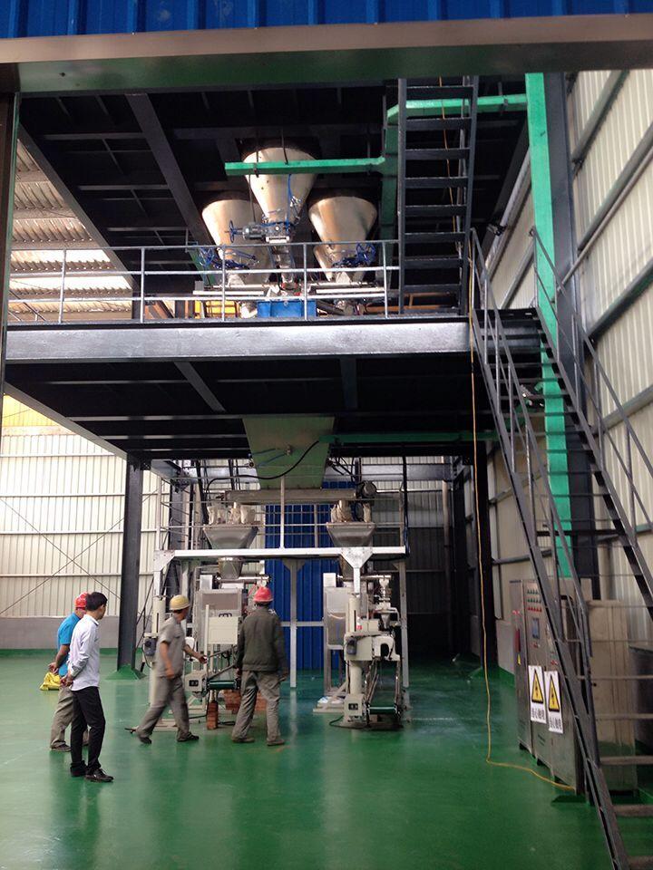 水溶肥自动配料混合包装设备