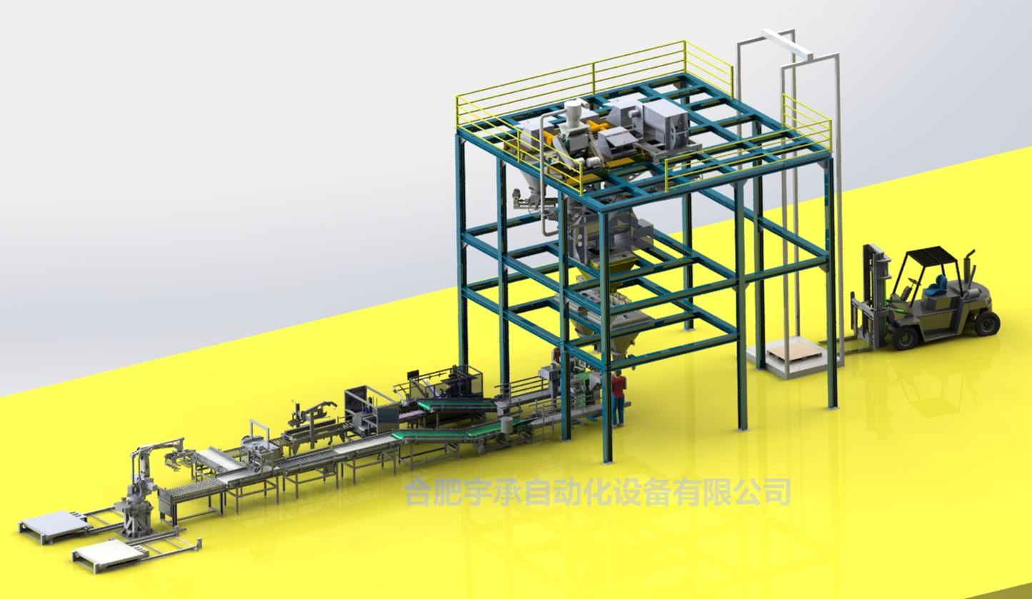 目前自动化程度最高的水溶肥生产设备那里有